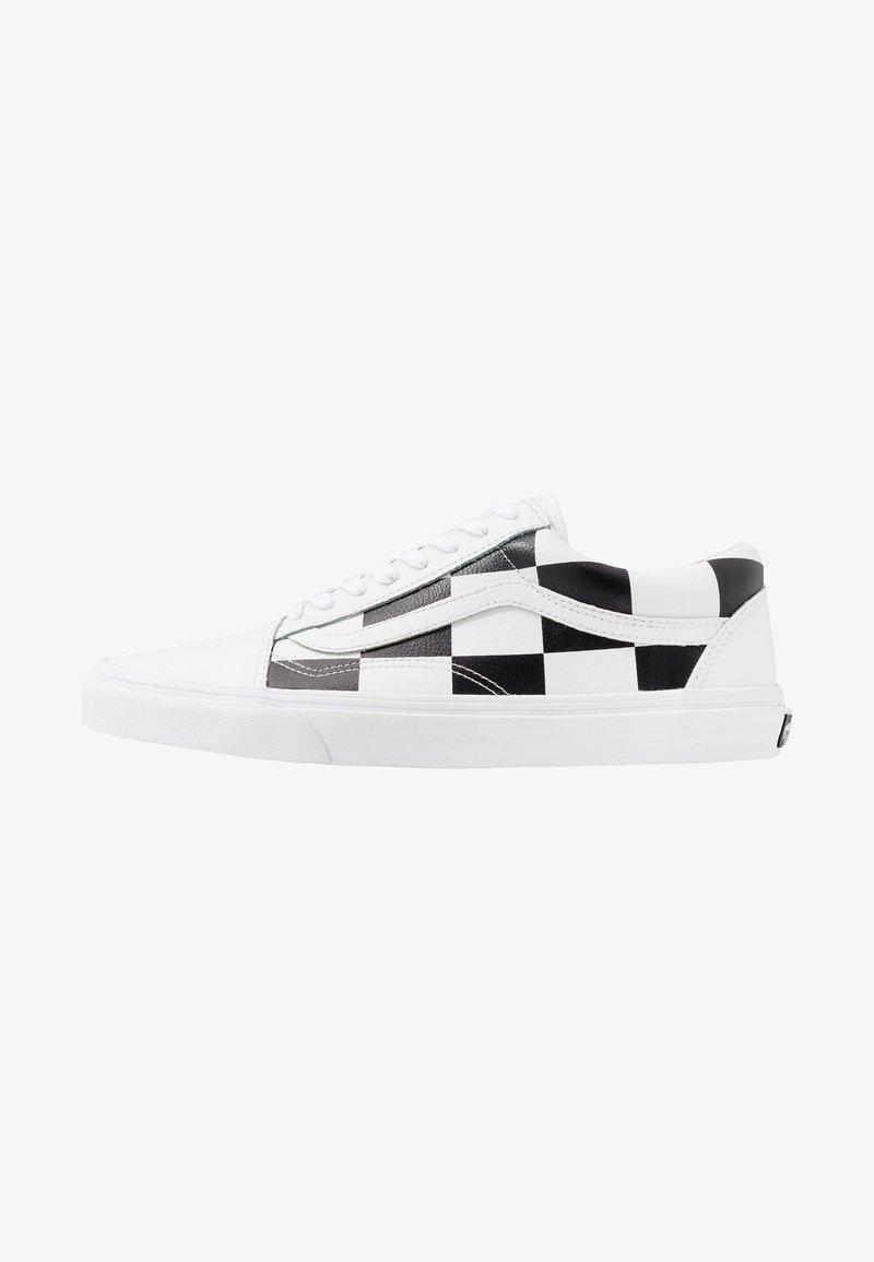 Vans - OLD SKOOL - Sneakersy niskie - true white/black