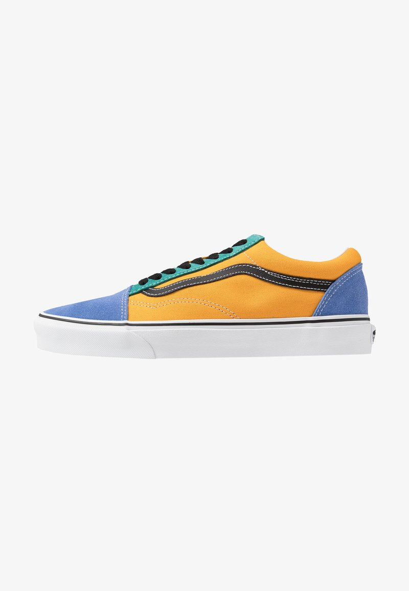 Vans - OLD SKOOL - Sneakersy niskie - cadmium yellow/tidepool