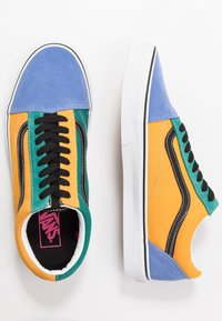 Vans - OLD SKOOL - Sneakersy niskie - cadmium yellow/tidepool - 1
