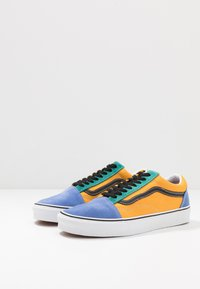 Vans - OLD SKOOL - Sneakersy niskie - cadmium yellow/tidepool - 2