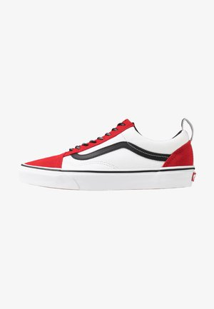 OLD SKOOL - Sneakersy niskie - red/black/true white