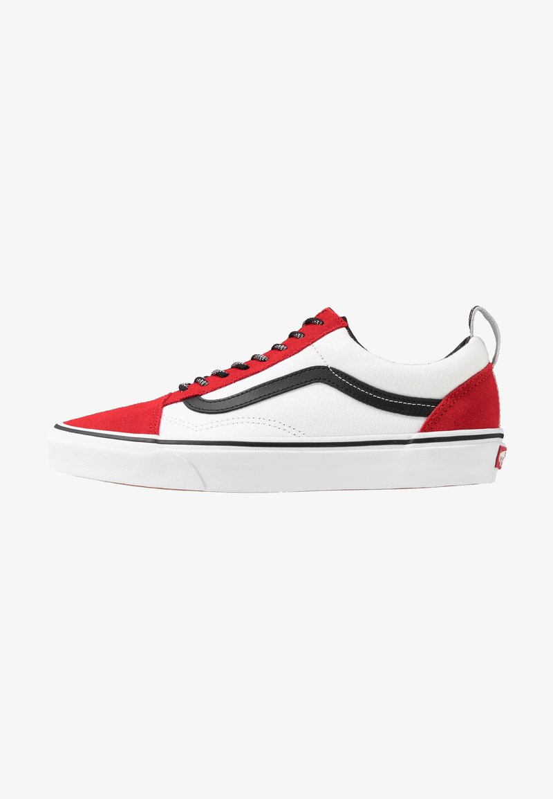 Vans - OLD SKOOL - Sneakersy niskie - red/black/true white