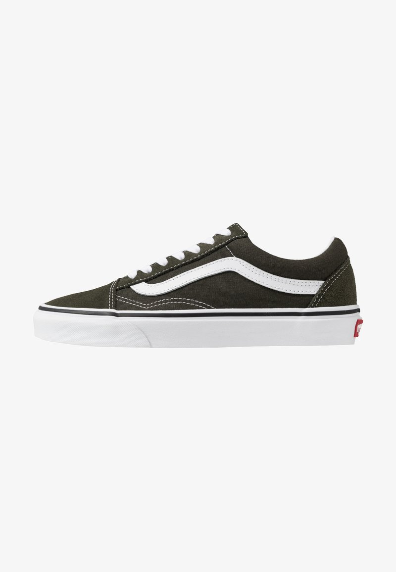 Vans - OLD SKOOL - Baskets basses - forest night/true white