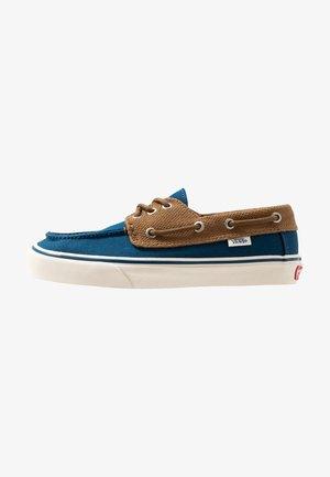 CHAUFFEUR - Chaussures bateau - sailor blue/breen