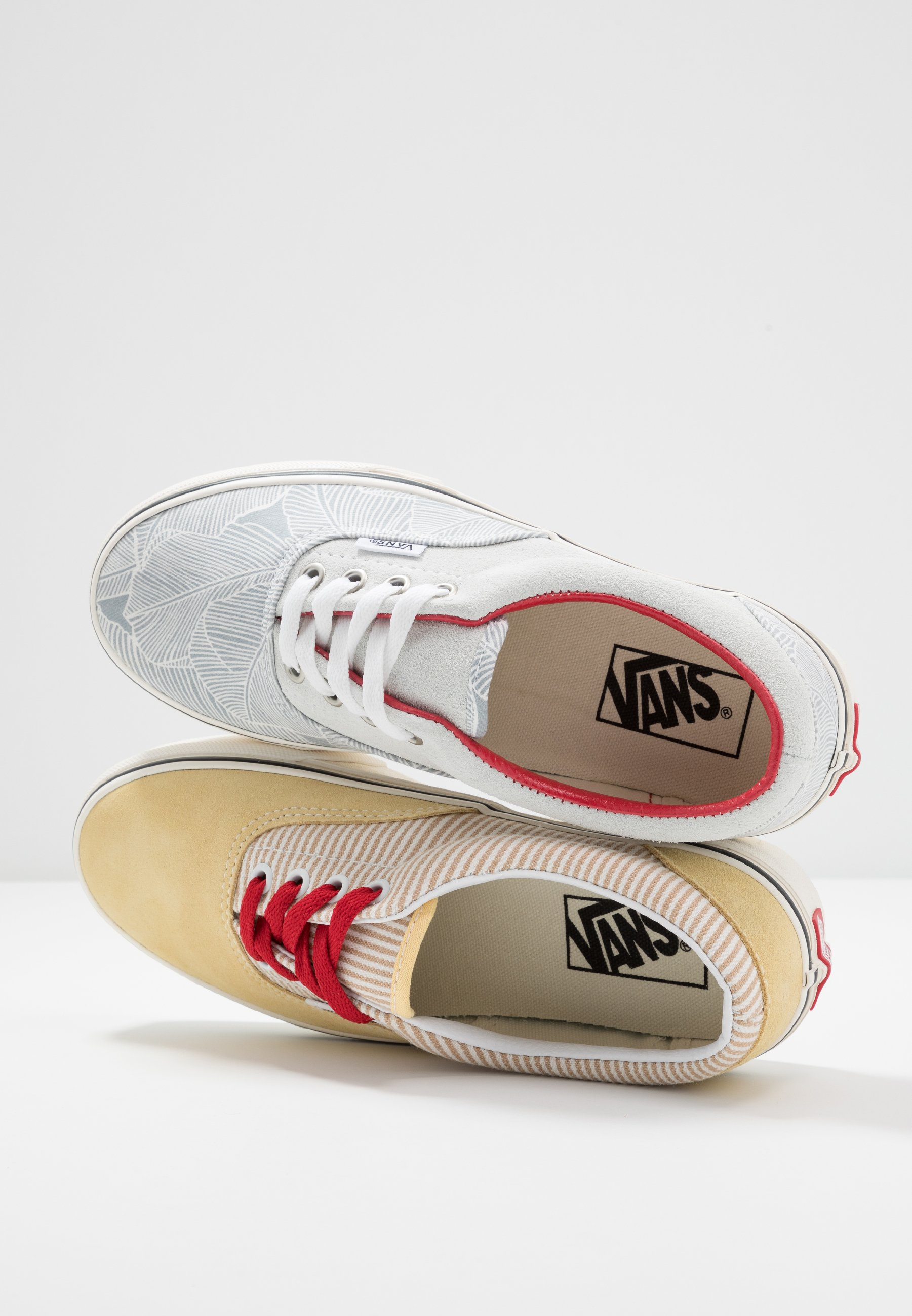Vans ERA - Sneakersy niskie - offwhite/yellow/red