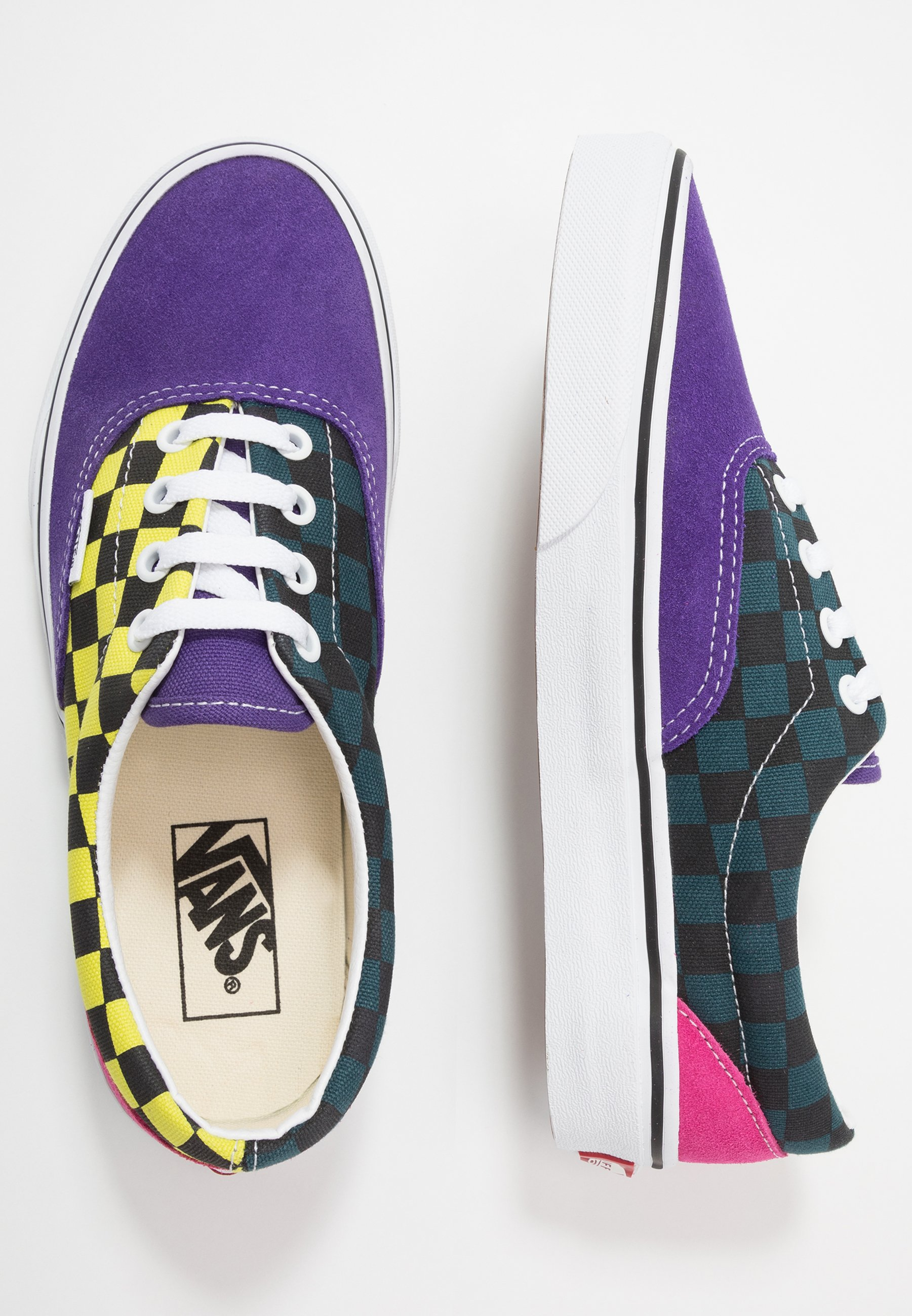 Vans ERA - Sneakers basse - fuschia purple/multi/true white anH3Zvie