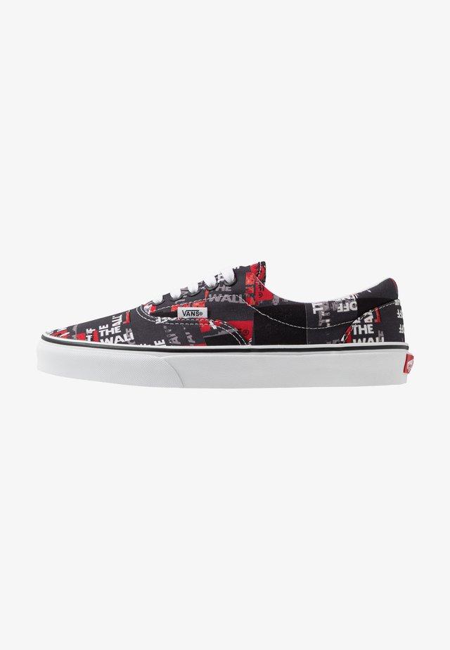 ERA - Sneakers basse - black/red/true white
