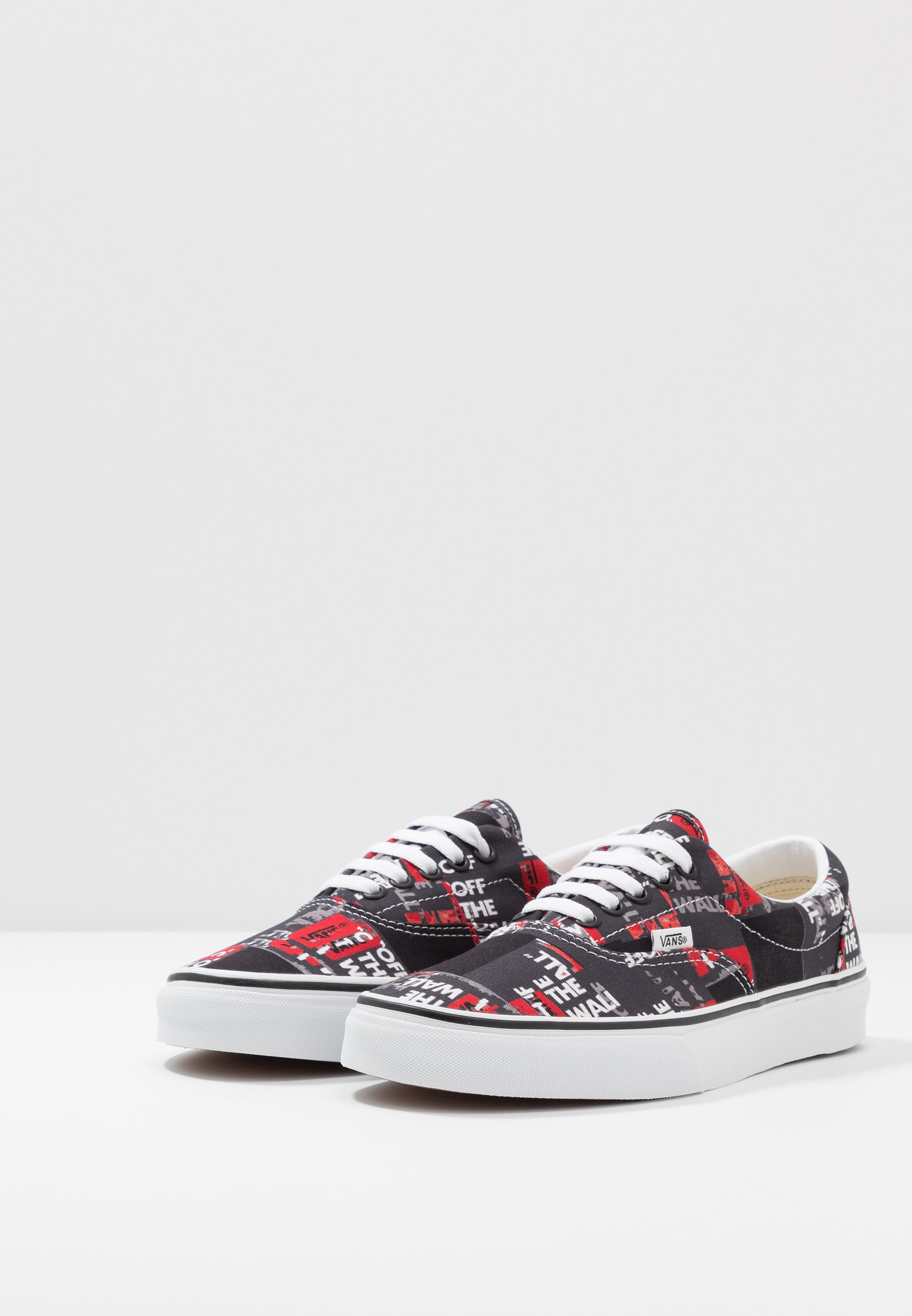 Vans ERA - Sneakersy niskie - black/red/true white