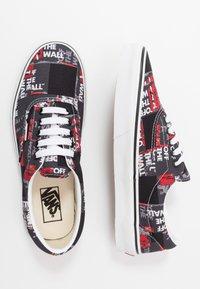 Vans - ERA - Sneakers laag - black/red/true white - 1