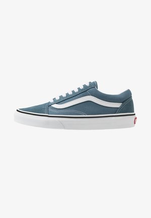 OLD SKOOL - Zapatillas skate - blue mirage/true white