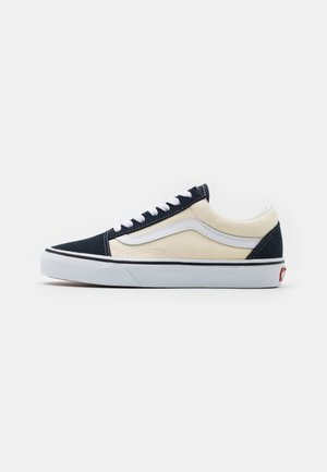 OLD SKOOL UNISEX - Sneakersy niskie - antique white/india ink