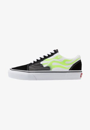 OLD SKOOL - Skateboardové boty - black/true white