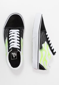 Vans - OLD SKOOL - Sneakers basse - black/true white