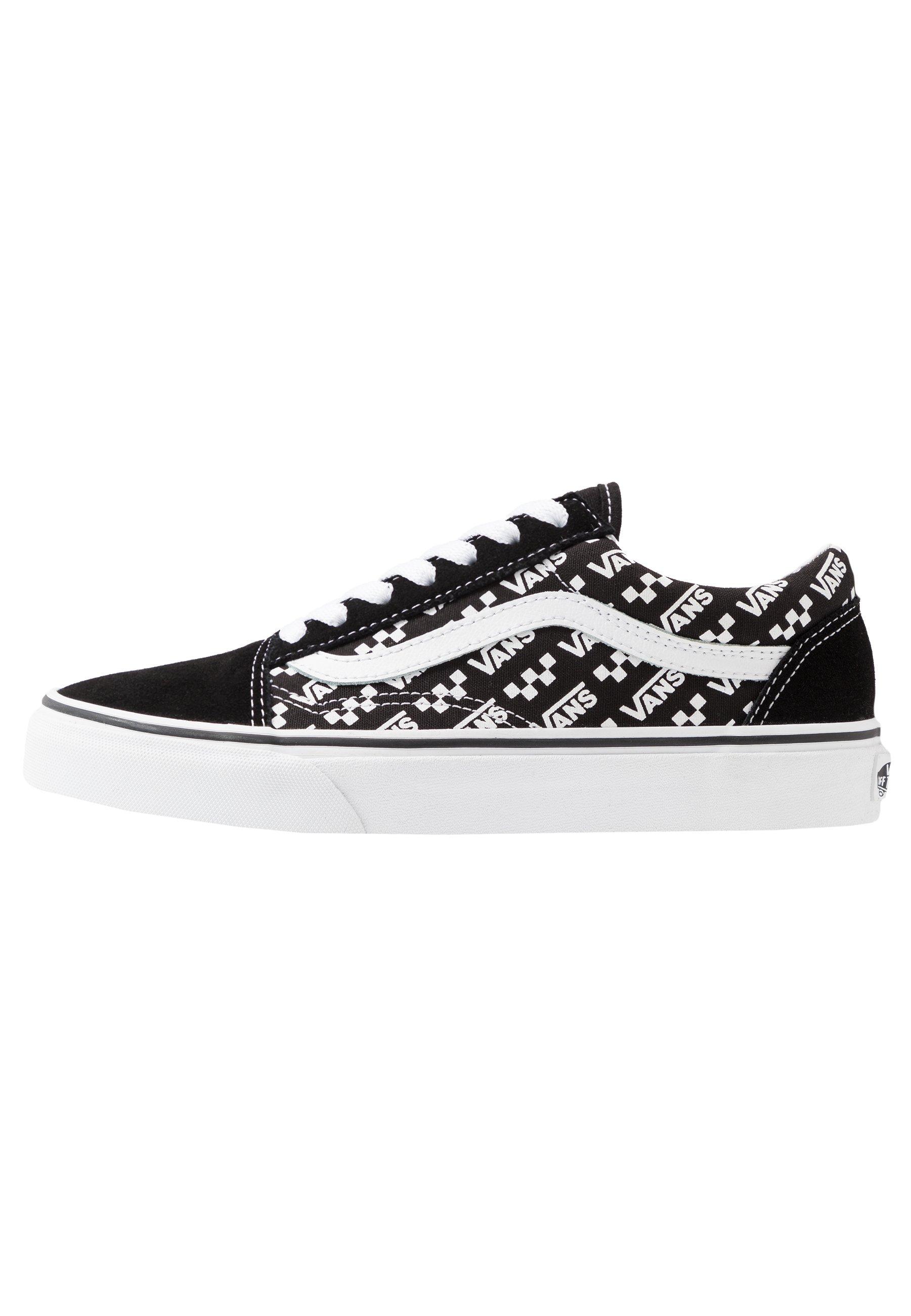 OLD SKOOL Chaussures de skate blacktrue white
