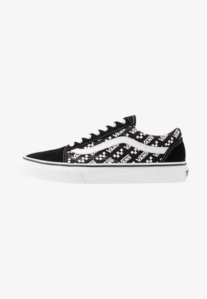 OLD SKOOL UNISEX - Matalavartiset tennarit - black/true white