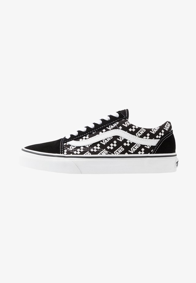 OLD SKOOL UNISEX - Sneakersy niskie - black/true white