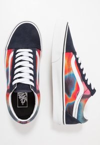 Vans - OLD SKOOL - Skate shoes - multicolor/true white - 1