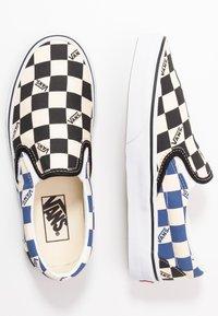 Vans - CLASSIC - Slip-ons - black/navy - 1