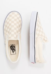 Vans - CLASSIC - Slip-ons - classic white/true white - 1