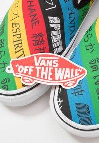 Vans - CLASSIC - Slip-ons - multicolor/true white - 5
