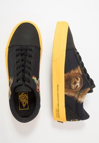 Vans - OLD SKOOL  - Sneakersy niskie - black/yellow/multicolor - 1