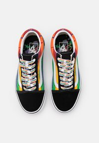 Vans - OLD SKOOL - Sneakersy niskie - black/multicolor/true white - 3