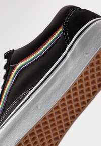 Vans - OLD SKOOL - Trainers - black/multicolor/true white - 7