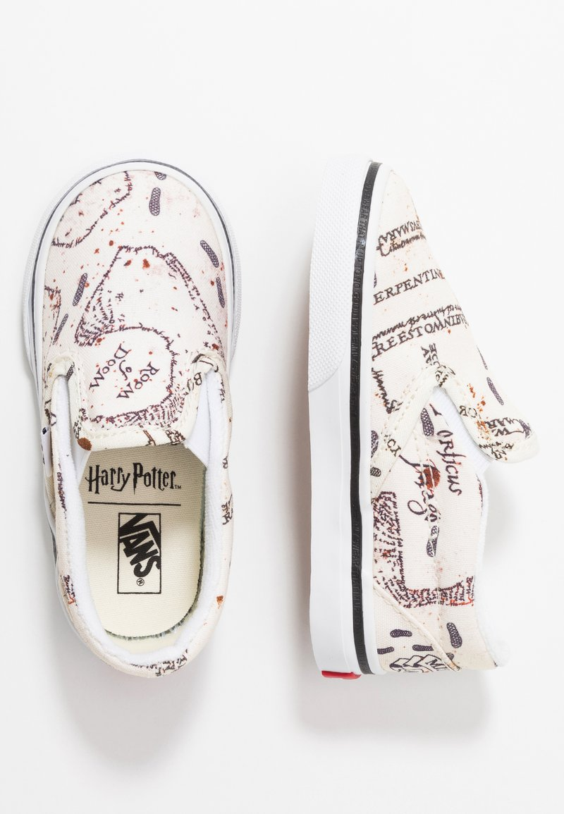 Vans - CLASSIC SLIP ON HARRY POTTER - Mocassins - marauders map/classic white