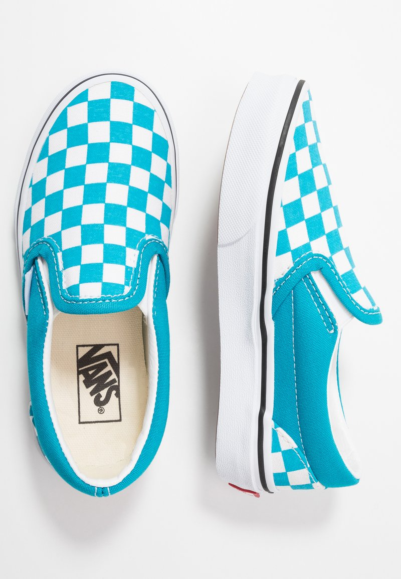 Vans - CLASSIC - Scarpe senza lacci - caribbean sea/true white