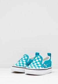 Vans - SLIP-ON - Baskets basses - caribbean sea/true white - 3