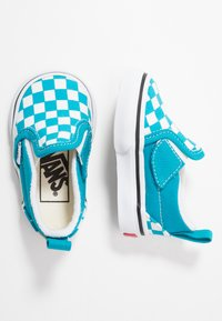 Vans - SLIP-ON - Baskets basses - caribbean sea/true white - 0