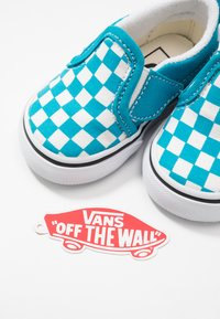 Vans - SLIP-ON - Baskets basses - caribbean sea/true white