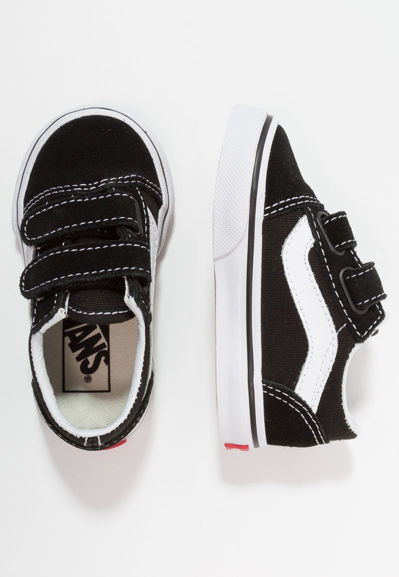 Vans - OLD SKOOL - Matalavartiset tennarit - black