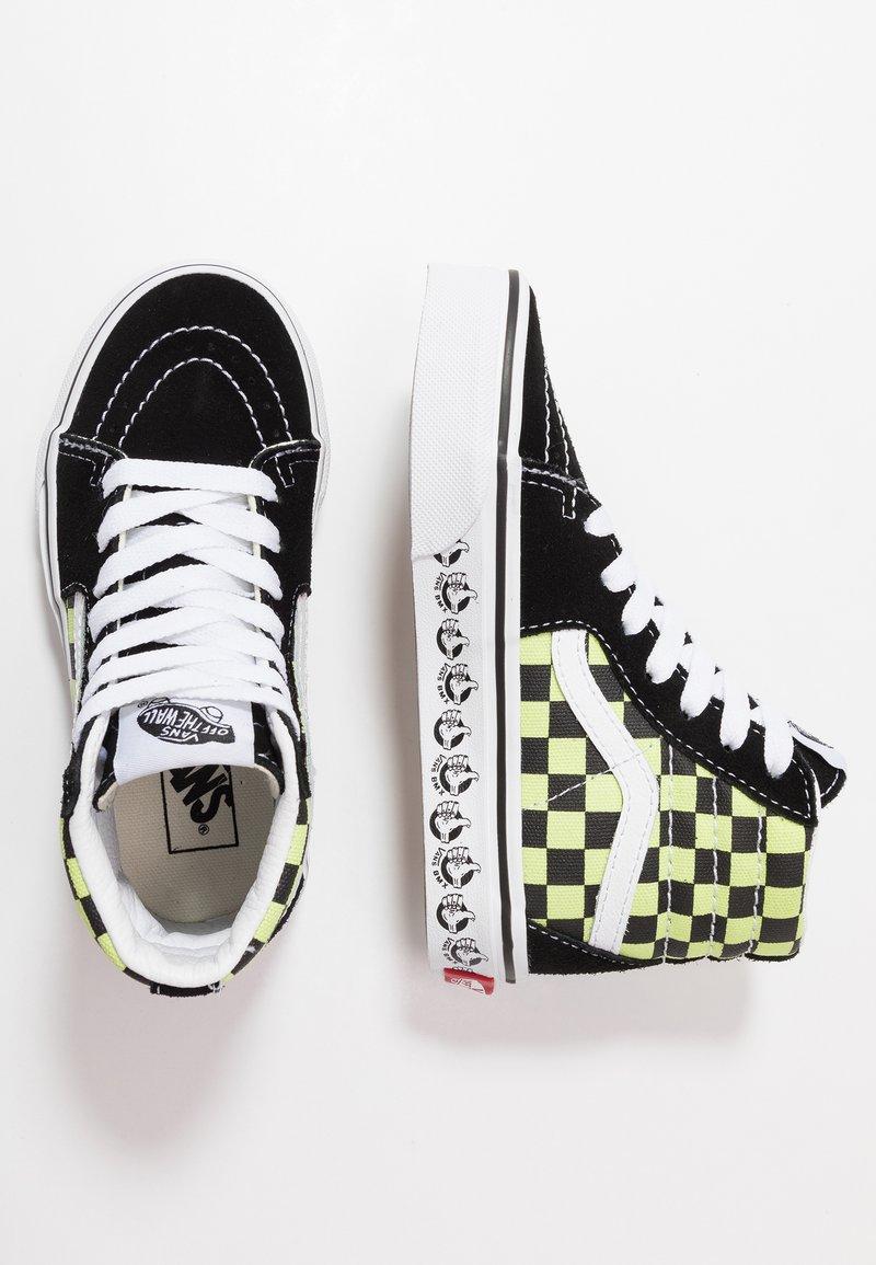Vans - SK8 - Sneakers hoog - black/sharp green