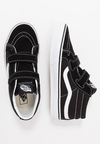 Vans - SK8 MID - Sneaker high - black/true white - 0