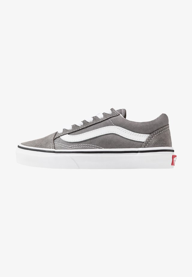 OLD SKOOL - Sneakers - pewter/true white