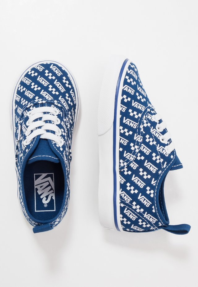 AUTHENTIC ELASTIC LACE - Mocasines - true blue/true white