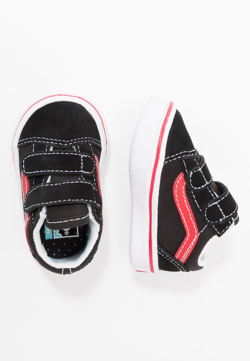 Vans - COMFYCUSH OLD SKOOL  - Sneakers basse - black/red