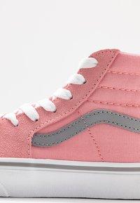 Vans - SK8 - High-top trainers - pop pink icing/frost gray - 2