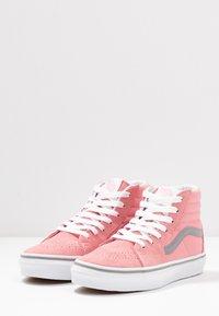 Vans - SK8 - High-top trainers - pop pink icing/frost gray - 3