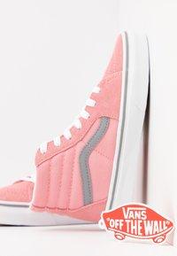 Vans - SK8 - High-top trainers - pop pink icing/frost gray - 6