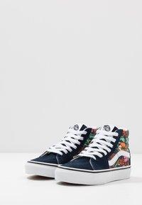 Vans - SK8 - Zapatillas altas - dress blues/true white - 3