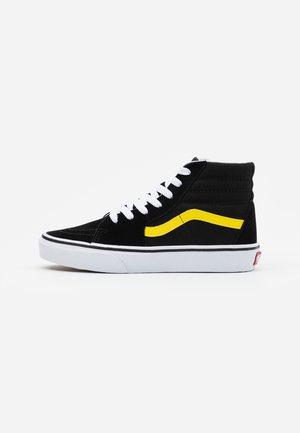 SK8 UNISEX - Sneaker high - black/blazing yellow/true white