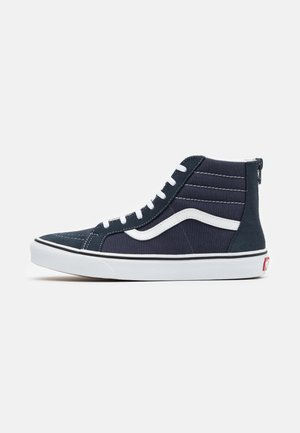 SK8 ZIP - Zapatillas altas - india ink/true white