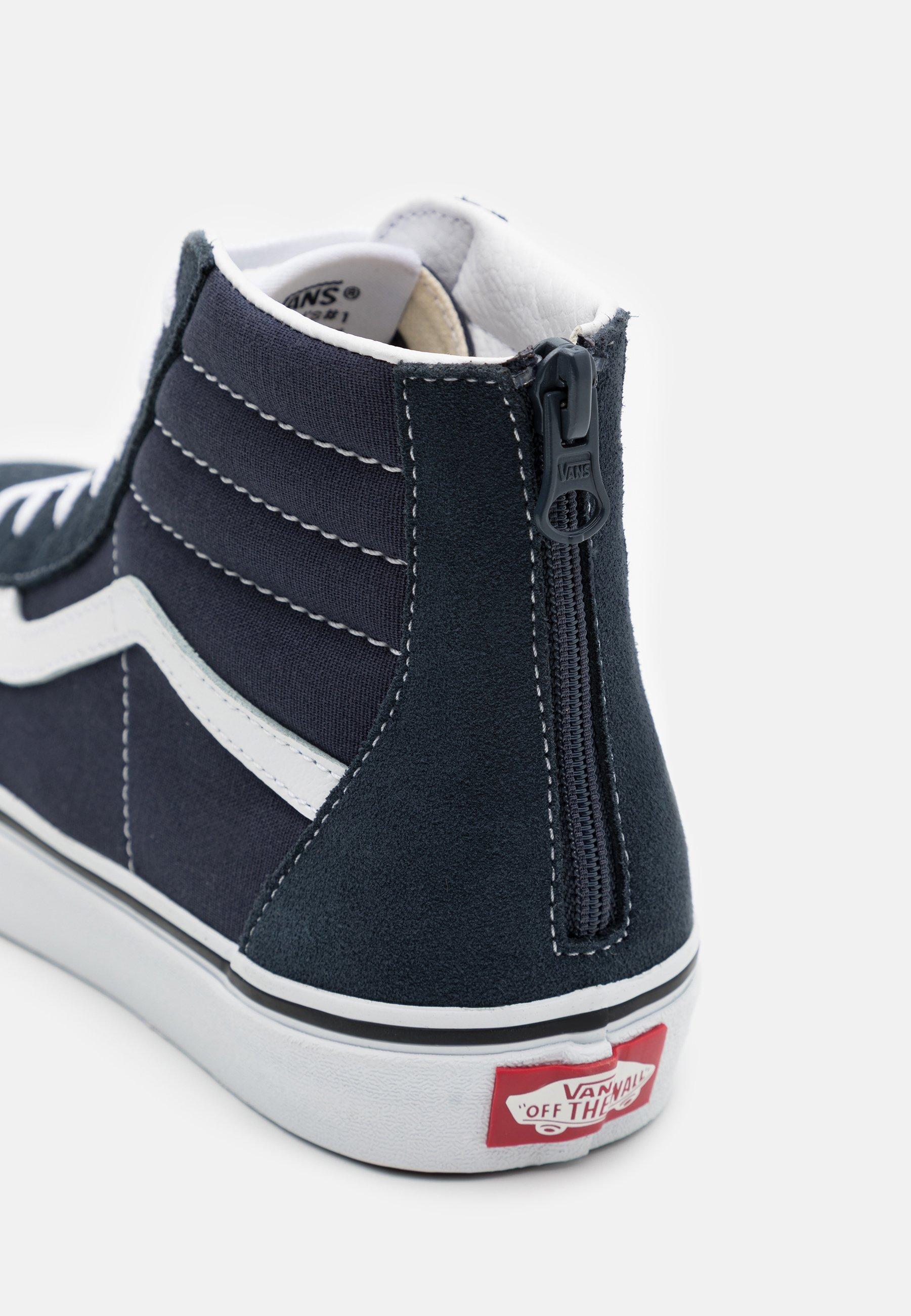 SK8 ZIP Sneakers hoog india inktrue white