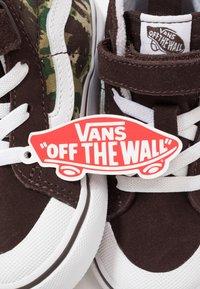 Vans - SK8 REISSUE 138  - Zapatillas altas - brown/true white - 6