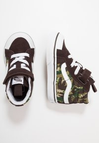 Vans - SK8 REISSUE 138  - Zapatillas altas - brown/true white - 0