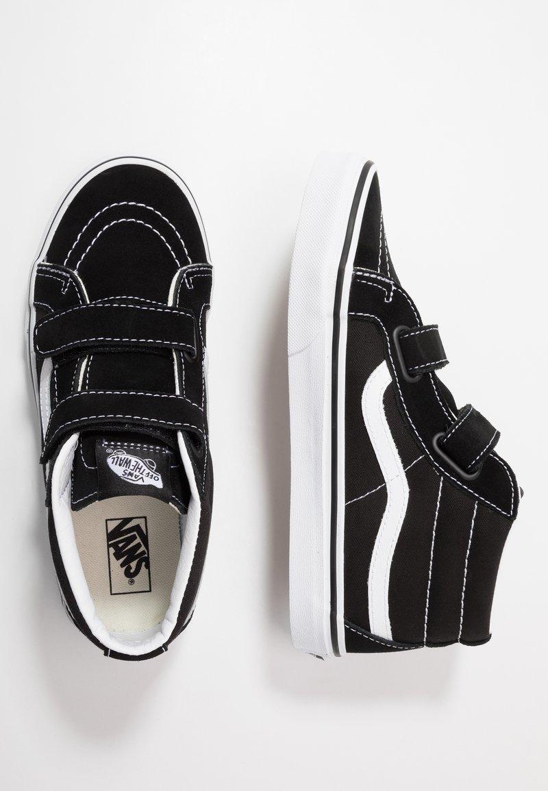 Vans - SK8-MID REISSUE - Vysoké tenisky - black/true white