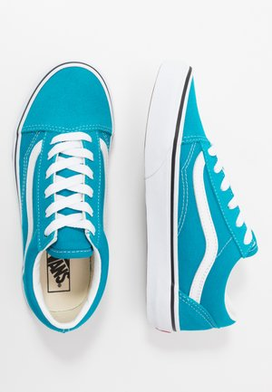 OLD SKOOL - Sneaker low - caribbean sea/true white