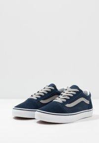 Vans - OLD SKOOL - Trainers - dress blues/drizzle - 3